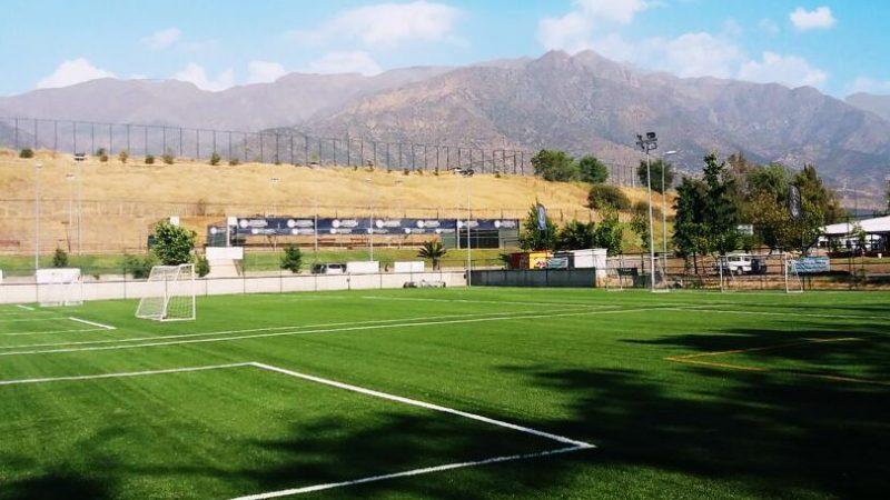 CCGrass Installation for Iván Zamorano Club