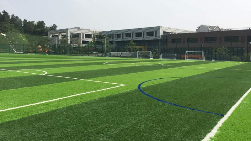 British School Chooses Chinese Pitch for its National Game