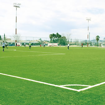 CCGrass professional synthetic grass field design