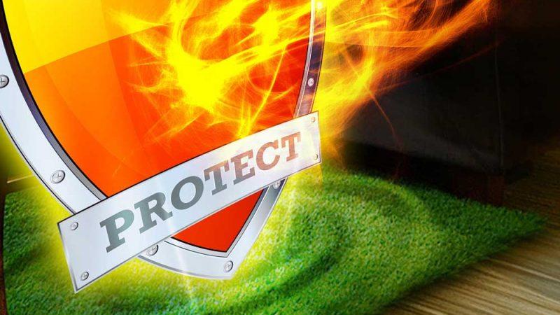Flame retardant grass series