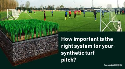 How important is the right system for your synthetic turf pitch?