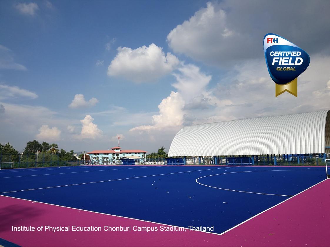 ccgrass high performance hockey artificial grass global field Thailand