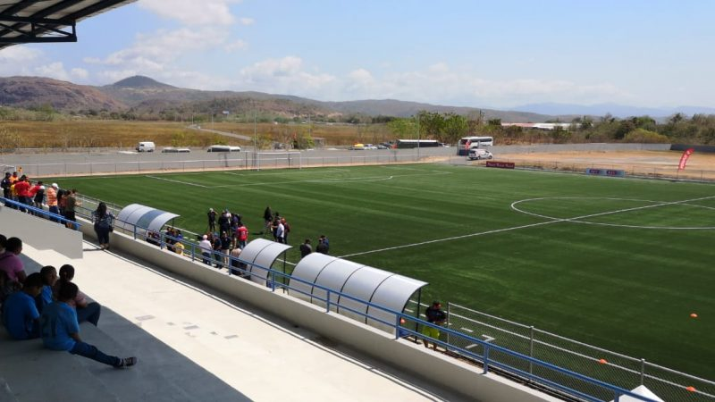 CCGrass complete FIFA Quality Pro pitch in Panama