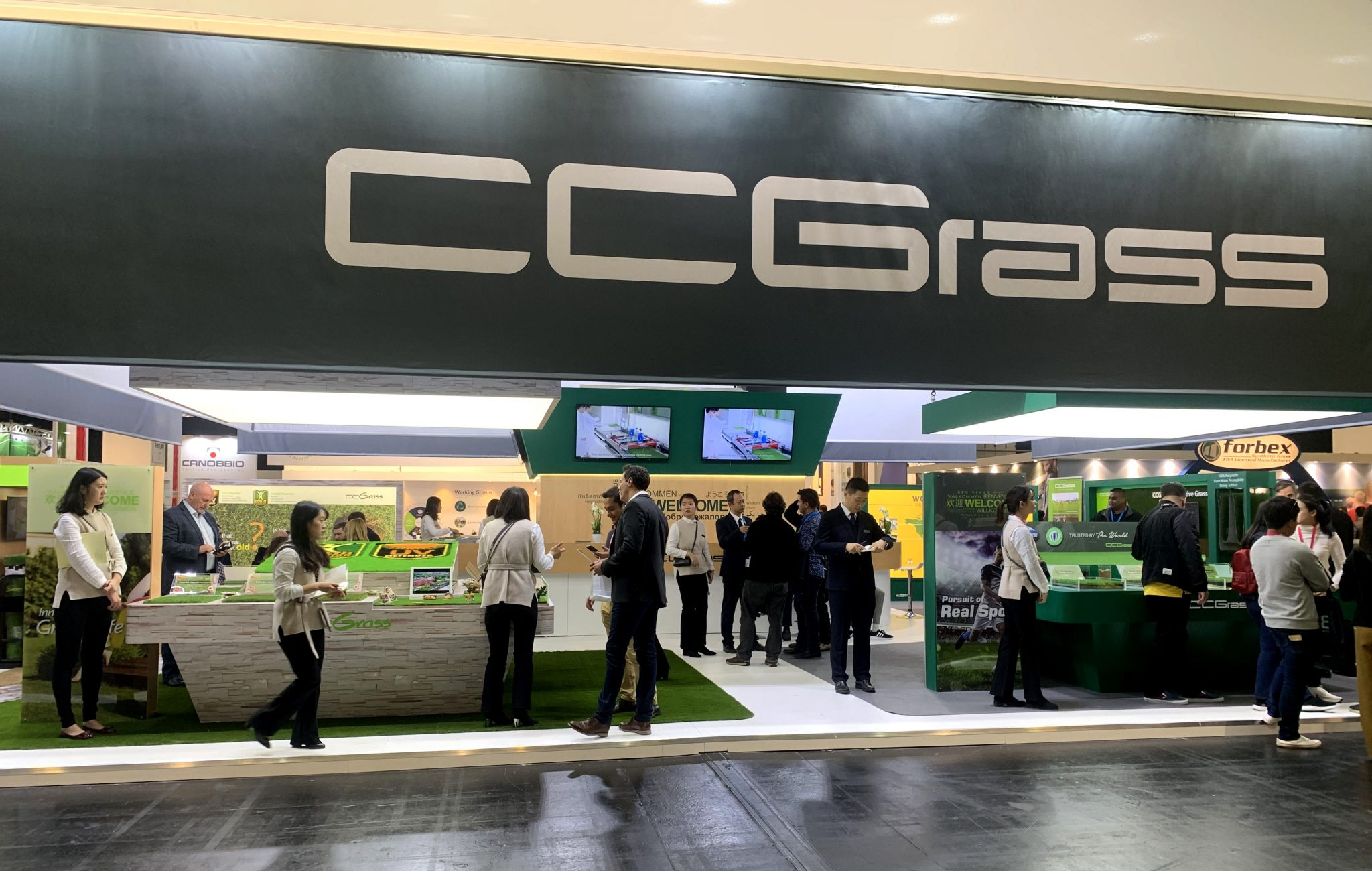 Great success for CCGrass at this year's FSB exhibition in Cologne1