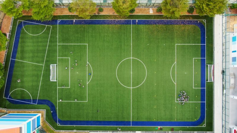 Major 31 pitches project uses Superb, the star artificial grass from CCGrass — A project from MOE, Singapore now comes to its final installation