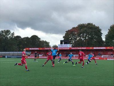 Hemel Hempstead first game on new pitch