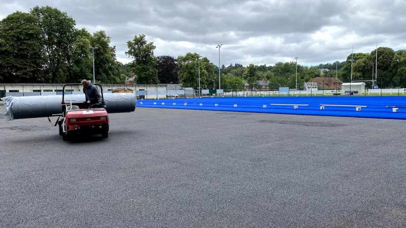 Simple requirements for ensuring a top quality synthetic turf pitch installation