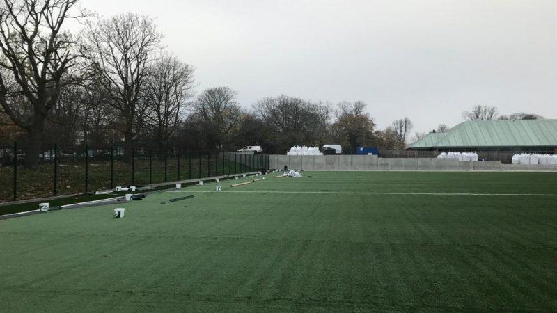 Club Des Sport pitch update