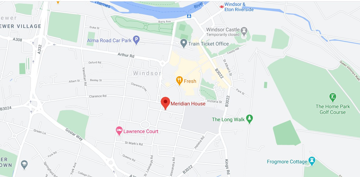 Windsor office map
