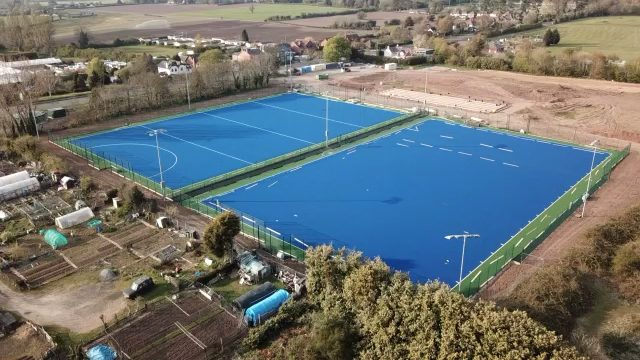 Worcester Hockey Club Double Pitch