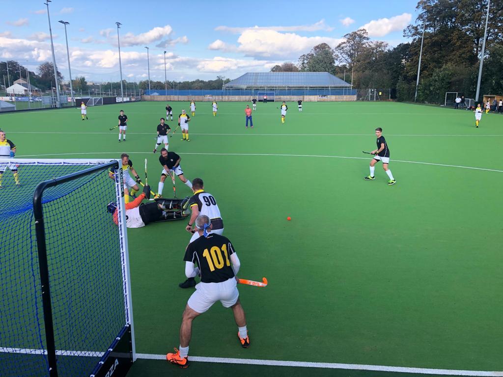 Gravesham hockey pitch with players