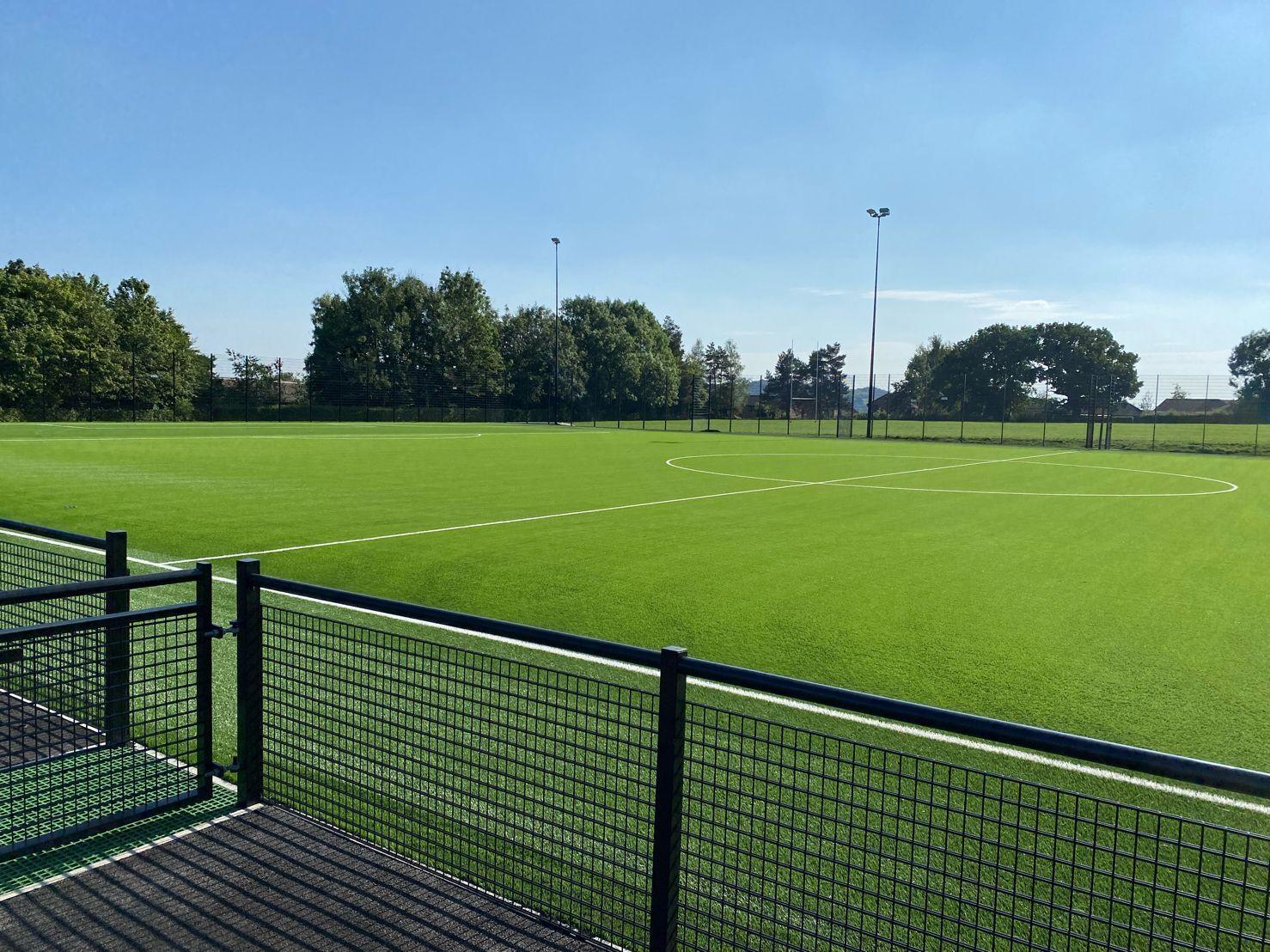 Highfields School new 3G pitch