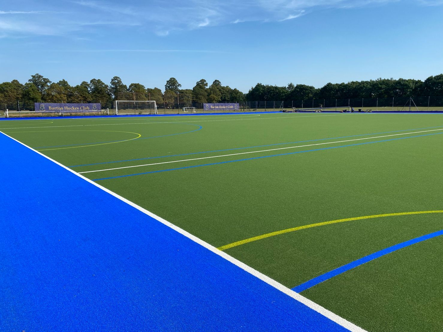 Shobnall Leisure Complex synthetic turf